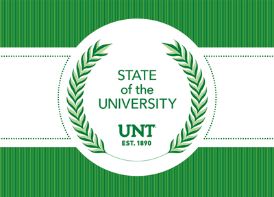 State of the University emblem